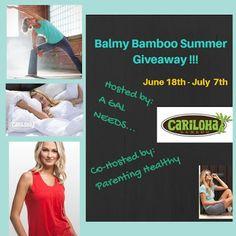 New Age Mama: Balmy Bamboo Summer #Giveaway