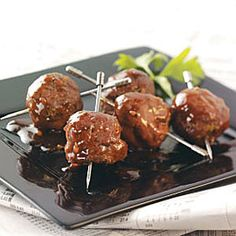 Hoisin Cocktail Meatballs Recipe - going to make these with ground turkey for appy night