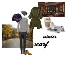 """winter scarf"" by paper-butterfly-mm ❤ liked on Polyvore featuring Acne Studios, WearAll and Humble Chic"