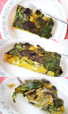 Mushrooms & Greens Frittata -IONutrition Review - Amazing Meal Delivery Service to Try right now. - Subaholic • Reviews of Subscription Boxes