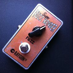 A couple of Fuzz bender MKI went out yesterday and this morning! Ripping one knob fuzz!  #fuzzbender