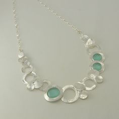 Image result for silver circle necklace