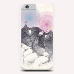 """""""Goncourt Brothers"""" Phone Case by Tzigone on Artsider.com"""