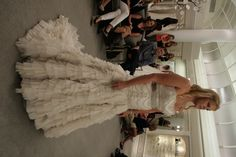 Lazaro #SYTTD #Weddings This is the most perfect Lazaro dress and I'll never get over it.