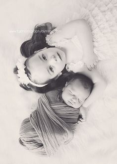 Beautiful Sibling Photography Session by TG Photography By Trisha/Fawn Over Baby