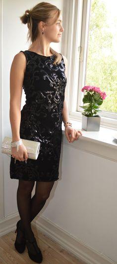 c5ea8d97a4a2 Designer clothes Copenhagen · Black cocktail dress Sort Cocktail Kjole