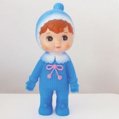 Blue Woodland Doll by Lapin and me.