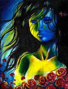Akrylmålning | Louielei