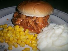 This is what I ended up having for supper…. crock pot honey barbecued chicken sandwiches, with a hint of smokey flavor. Oh yeah, yeah… corn [...]