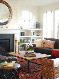 Home Decor Eclectic Living. リビングのインテリアコーディネイト実例