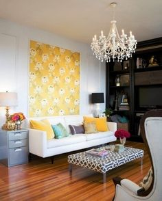 Ten Colorful Ways to Decorate Your Home withoutPaint! Will be needing these ideas when I get my place!