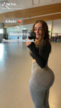 Summer Body Workouts, Full Body Gym Workout, Gym Workout Videos, Gym Workout For Beginners, Fitness Workout For Women, Butt Workout, Gym Workouts, Fitness Goals, Glute And Hamstring Workout