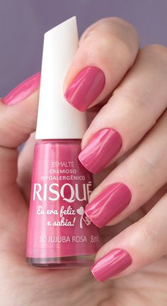 New Nails Art Pink Manicure Ideas 39 Ideas Love Nails, Pink Nails, Pretty Nails, My Nails, Nails Polish, Nail Polish Colors, Beautiful Nail Designs, Fabulous Nails, Stylish Nails