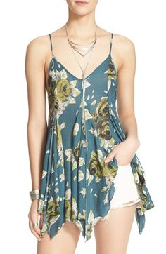 Free People 'Alyson' V-Neck Tunic available at #Nordstrom