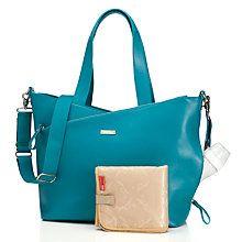 Buy Storksak Lucinda Changing Bag, Teal Online at johnlewis.com