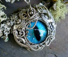 Gothic Steampunk Winged Goddesses Evil Eye by twistedsisterarts
