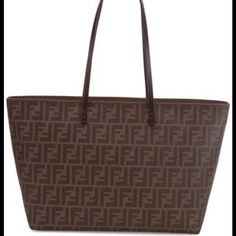 FENDI Handbags - Fendi Zucca tote Brand new with tags