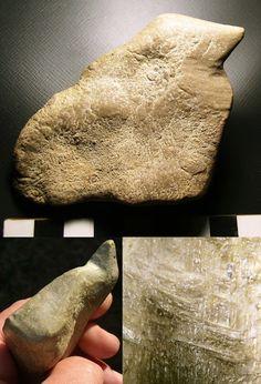 Limestone Scraper / Bird Figure from Muskingum County, Ohio