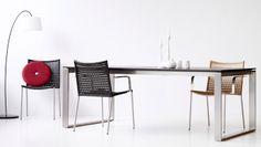 Straw spisestol sortnatur Cane-line chair