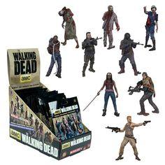 Walking Dead Building Set Mini-Figure Wave 3 Random 6-Pack