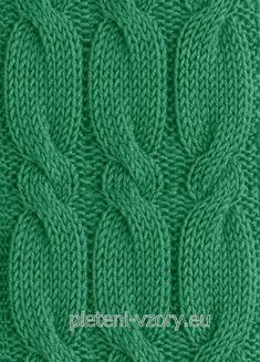 Vzor č. 125 – Kaleidoskop vzorů pro ruční pletení ff55e64f1b