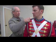 Nutcracker Rehearsal - Fruhauf Soldier Costumes - YouTube