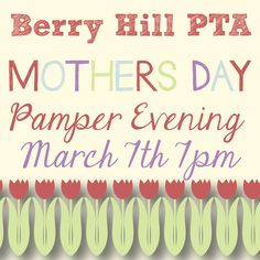Mothers Day - Published PTA Templates and Poster Kits