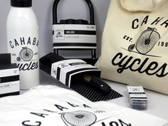 Packaging of the World: Creative Package Design Archive and Gallery: Cahaba Cycles (Student Work)