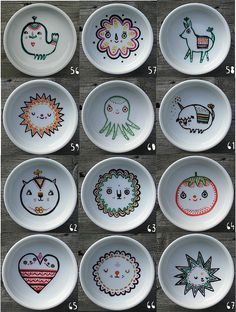 dishes by laura berger.