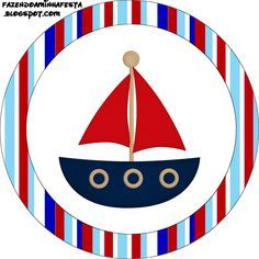 My Little Nautical World Series Kids' Pillow Cover Deco Theme Marin, Baby Shower Marinero, Baby Shawer, Nautical Party, Bottle Cap Images, Scrapbooking, Party Activities, Boy Birthday Parties, Baby Boy Shower