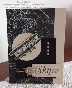 Stampin' & Scrappin' with Stasia  Stampin' Up!  Occasions Mini and Sale-a-bration Brochure 2016 -The Sky is the Limit, Going Places Designer Series Paper Stack