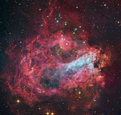 Star Factory Messier 17.