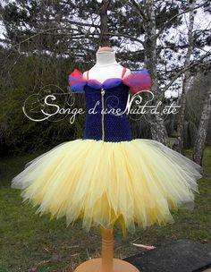 https://www.facebook.com/songe.nuit.ete   Robe tutu princesse Blanche Neige.