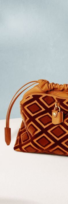 The Little Crush bag from Burberry in velvet and geometric prints