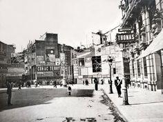 Plaza de Canalejas, 1914 - Portal Fuenterrebollo Foto Madrid, Best Memories, Photos, Photographs, Street View, Black And White, City, Vintage, Retro