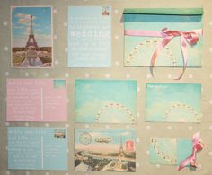6) Invite inspirations ...... because we are like this  #modcloth#wedding