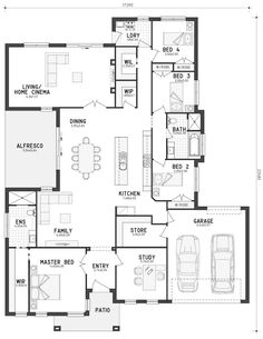 Floor Plan Friday – A home with lots of storage!