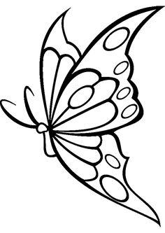 44 Fantastiche Immagini Su Farfalle Disegni Butterfly Coloring