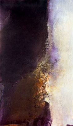 ZAO WOU-KI This might be my favorite painting I've seen. I need this in my house.