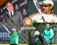 #LegadoTricolor: Nuestros Directores Técnicos como jugadores de Selección Mayor