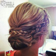 If the girls want their hair up