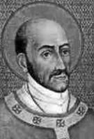 Saint Turibius of Mogroveio. Lawyer, teacher, priest, he became archbishop of Lima, Peru, founded the first seminary in the Western hemisphere, and fought for the rights of native Peruvians in the face of Spanish conquest.
