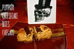 The Geeky Gal: Pumpkin Cheesecake Bites (Version #1)