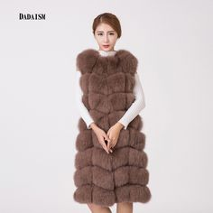 >> Click to Buy << 2016 new fashion leather fox fur coat fur vest and long sections shipping Personal Tailor received a variety of colors #Affiliate