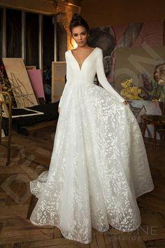 191 Best Long Sleeve Wedding Dresses Images In 2020 Wedding