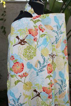 Nursing+Cover+Avalon+Hummingbirds+by+Essiedesigns+on+Etsy,+$18.99