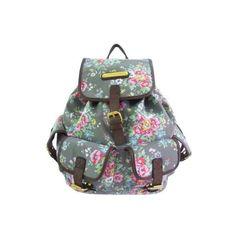 960e7c7ca6 New Ladies Flowers Print Backpack LYDC Rucksack Shoulder Bag Canvas... (30  CAD
