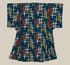 Silk kimono. Taisho period (1911-1927), Japan. The Kimono Gallery