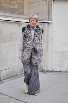 Shizue Hamano, Paris Fashion Week