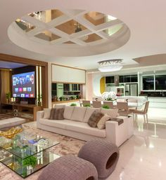 ✔ 37 interesting modern house interior ideas that you must see 27 Living The Laptop Lifestyle and learning how to make good money online from home .Click the pin link to learn Dream House Interior, Luxury Homes Dream Houses, Dream Home Design, Modern House Design, Home Interior Design, Interior Ideas, Home Living, Luxury Living, Living Room